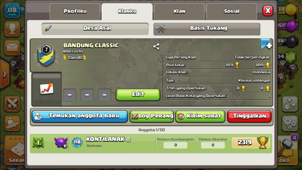 Clan Level 7 Bandung Classic