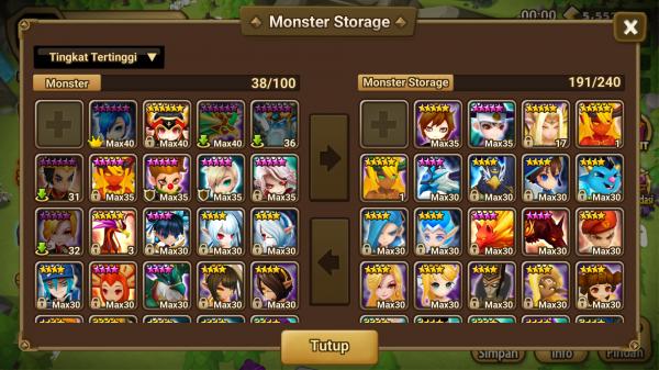 Gany,Perna,Poseidon,Vanessa,Teshar dan mongkey