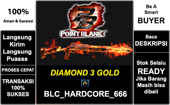 DIAMOND 3 GOLD | BLC_HARDCORE_666