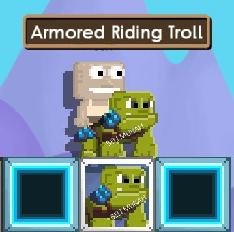 Armored Riding Troll