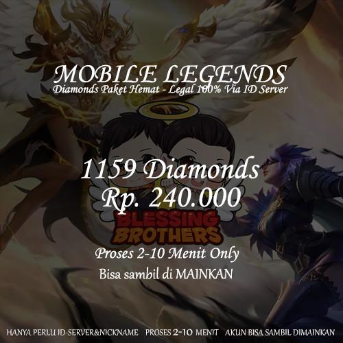 1157 Diamonds