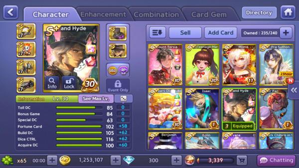 Jekyll and Hide+Isaac+Tersia+Momo+Wukong+Cupid