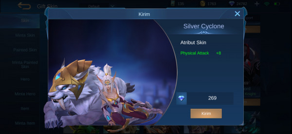 Silver Cyclone (Skin Irithel)