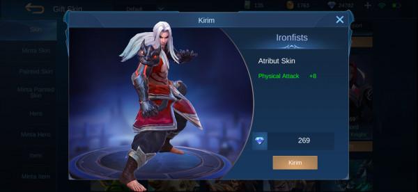 Ironfists (Skin Badang)