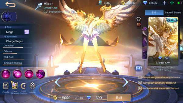 Divine Owl (Special Skin Alice)