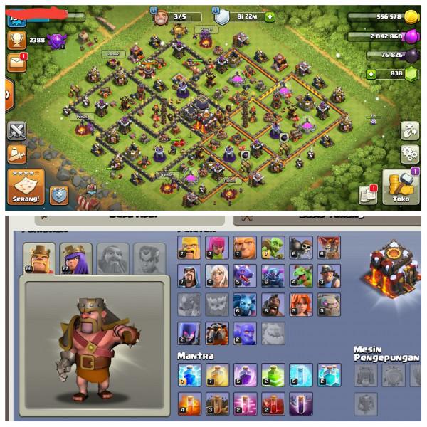 Town Hall 10 Max Defense|Level Hero 26/27|Gem 838