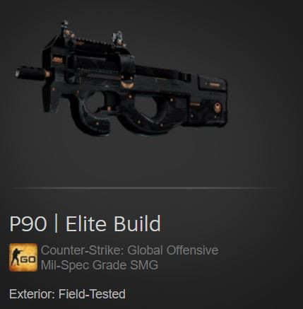 P90 | Elite Build (Mil-Spec SMG)