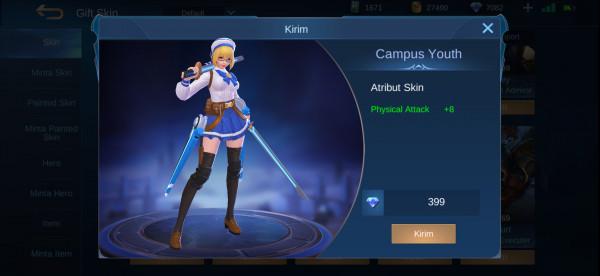 Campus Youth (Elite Skin Fanny)