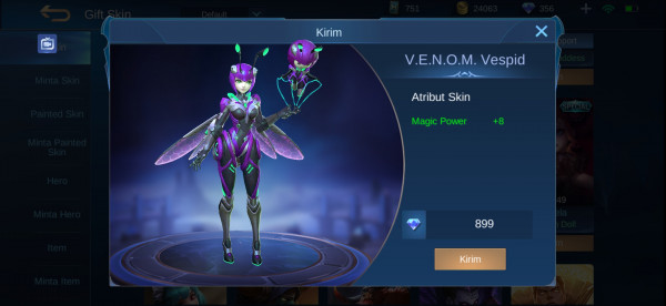 V.E.N.O.M. Vespid (Epic Skin Angela)