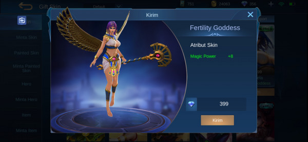 Fertility Goddess (Elite Skin Rafaela)