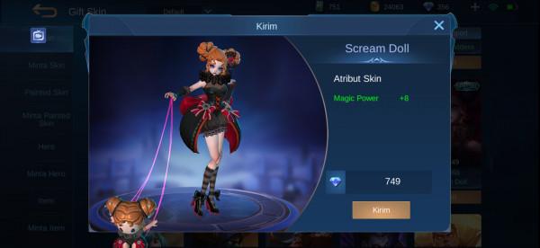Scream Doll (Special Skin Angela)
