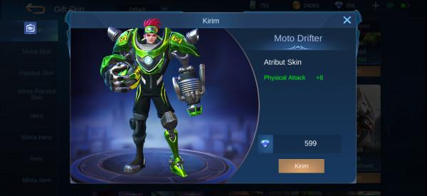 Moto Drifter (Elite Skin X. Borg)