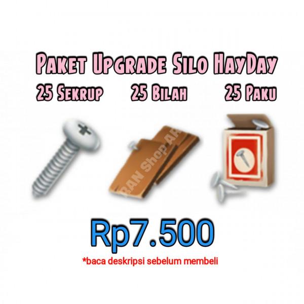 25 Set Paket Upgrade Silo HayDay