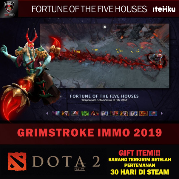 Fortune of the Five Houses (Immortal TI9 Grimstroke)