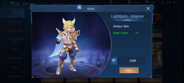 Lightborn - Inspirer (Harrith Lightborn Skin)
