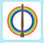 ((Langka!)) Rainbow Wand - Adopt me!
