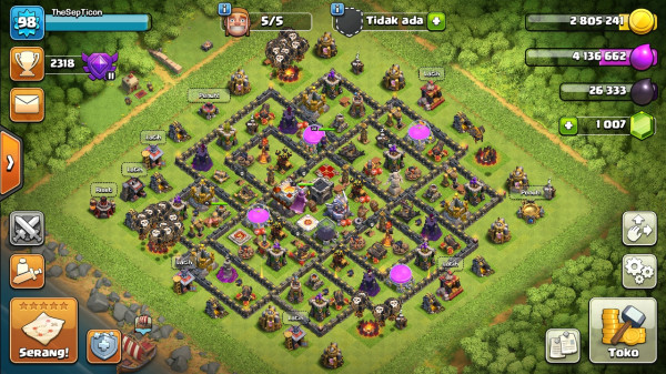 TH 11 WALL NYALA | CN ON MURAH