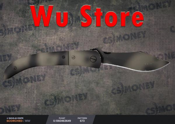 Navaja Knife   Scorched (MW)