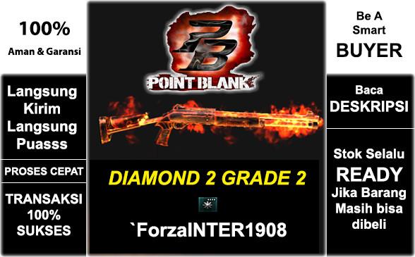 DIAMOND 2 GRADE 2 | `ForzaINTER1908