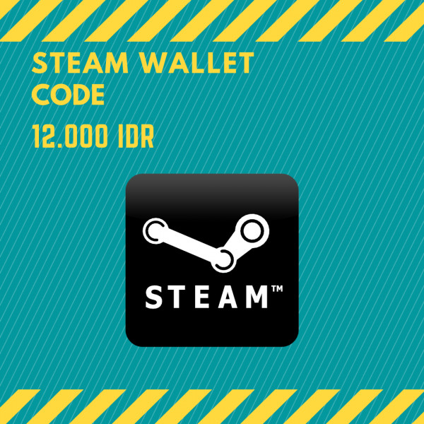 Steam Wallet IDR 12.000